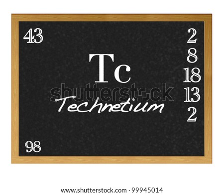 periodic table and technetium History (gr technetos, artificial) element 43 was predicted on the basis of the periodic table, and was erroneously reported as having been discovered in 1925, at which time it was named masurium.