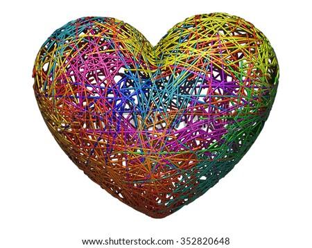 Image result for strange heart images