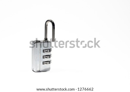 Isolated Combination lock
