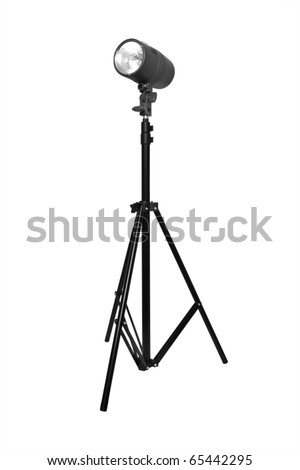 isolated flash on a white background