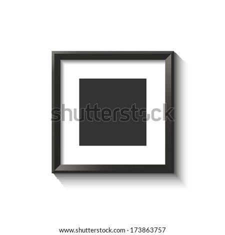 Isolated frame for your design.