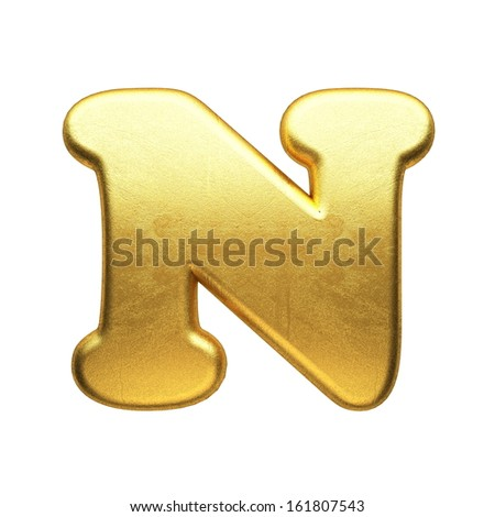 isolated golden figure