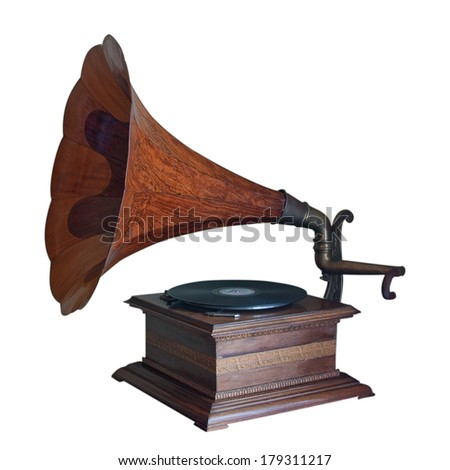 Isolated gramophone