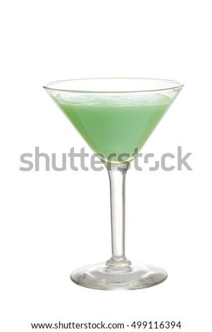 isolated grasshopper cocktail