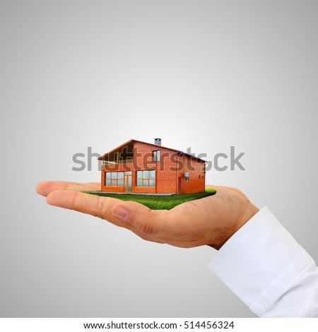 Isolated House on the Hand