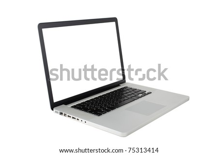 Isolated: Laptop