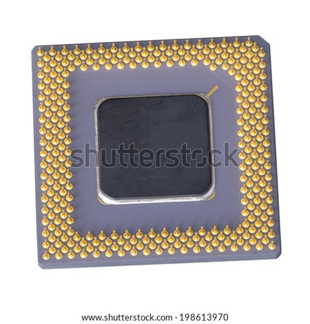 Isolated microprocessor