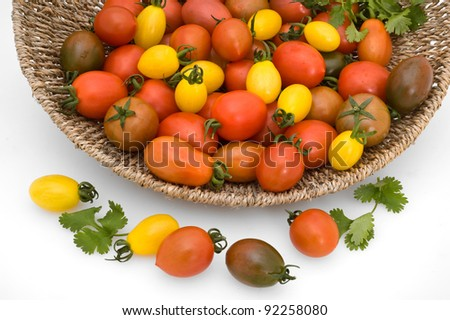 isolated new varieties of tomatoes
