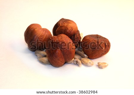 isolated nuts