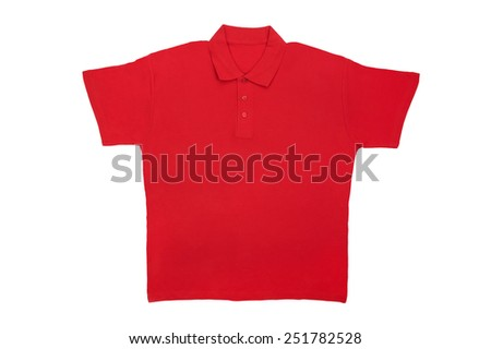 isolated object on white -  t shirts - stock photo