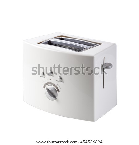 Isolated on a white background small household appliances