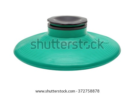 Isolated on white medical rubber ice-bag, icepack  - stock photo