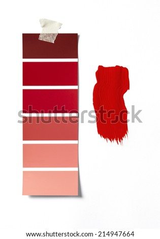 Paint Sample paint swatches stock images, royalty-free images & vectors