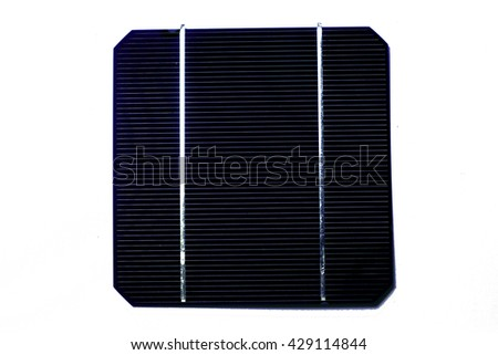 isolated photovoltaic solar cell