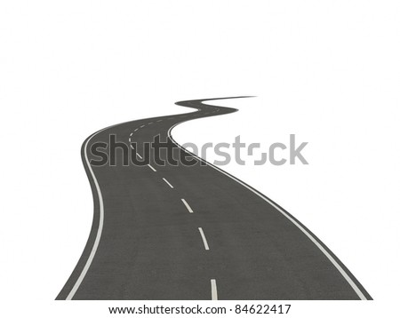isolated road