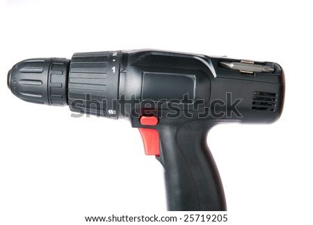 Isolated screwdriver - stock photo