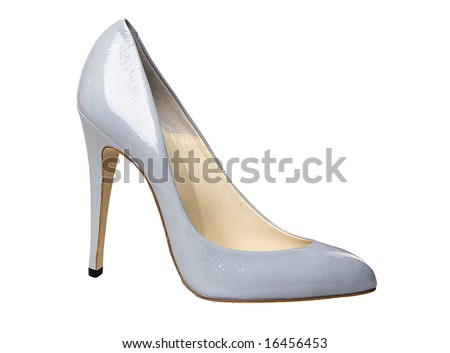 isolated shoe with white background