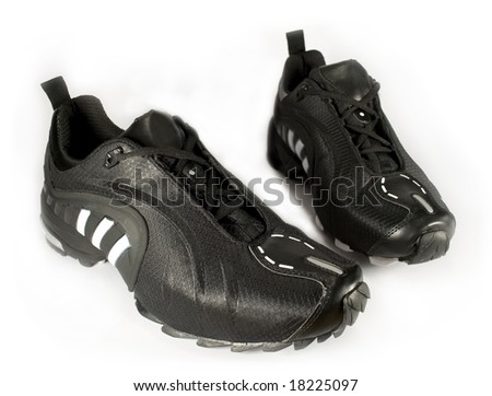 Isolated sport shoe - stock photo