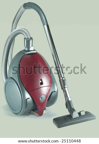Isolated Stainless Steel Vacuum Cleaner 1