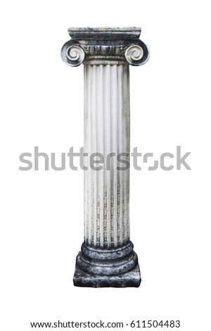isolated stone pillar