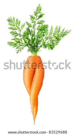 Carrot in anus think, that
