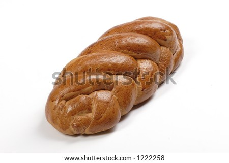 isolated white sweet bread