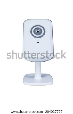 Isolated with Network Camera, ip camera