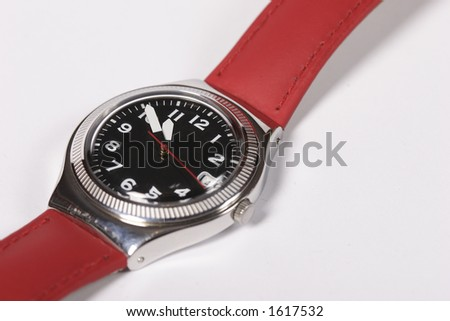 isolated wrist-watch