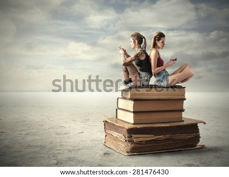 Isolation - stock photo