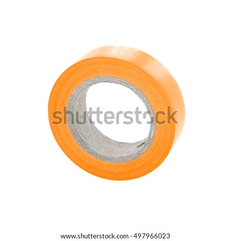Isolation sticky insulating tape reel