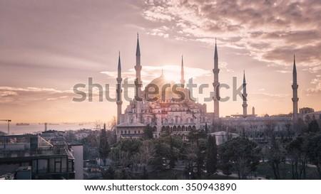ISTANBUL IN TURKEY - stock photo