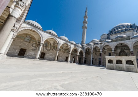 Istanbul sights - stock photo