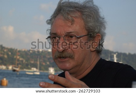 ISTANBUL, TURKEY - APRIL  25:  Famous Turkish  actor  Svas Dincel  Portrait on on April 25, 2005 in Istanbul, Turkey.