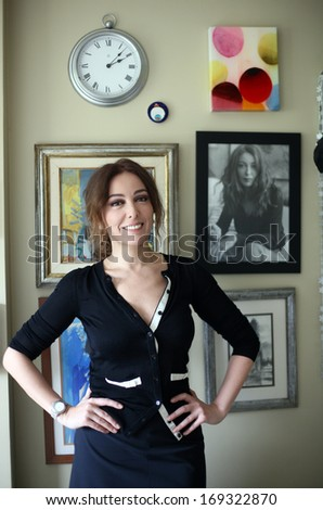 ISTANBUL, TURKEY - APRIL 28: Famous Turkish actress, thespian and painter Zerrin Tekindor on April 28, 2010 in Istanbul, Turkey. She won an Afife Theatre Award for Best Supporting Actress in Comedy.