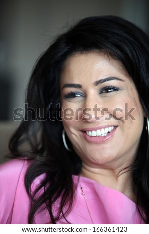 ISTANBUL, TURKEY - APRIL 29: Famous Turkish actress, writer, thespian, television and movie star Iclal Aydin portrait on April 29, 2011 in Istanbul, Turkey.