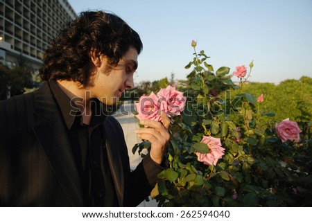 ISTANBUL, TURKEY - DEC 10:  Famous Turkish  pop singer Bayhan Gurhan Portrait  on December 10, 2006 in Istanbul, Turkey.