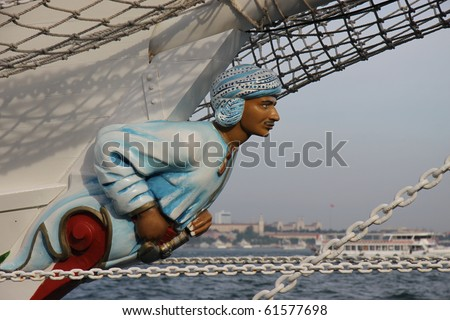 ISTANBUL, TURKEY - MAY 29: Historical Seas Tall Ships Regatta Races 2010 on May 29, 2010 in Istanbul