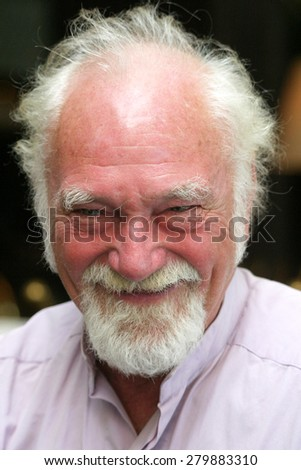 ISTANBUL, TURKEY - OCTOBER 21: Famous sculpture artist Roger Marion portrait on October 21, 2005 in Istanbul, Turkey.