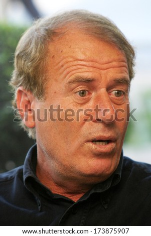 ISTANBUL, TURKEY - SEPTEMBER 6: Turkish football manager and former football player Mustafa Denizli on September 6, 2007 in Istanbul, Turkey. He has won the Turkish Super League title three times.