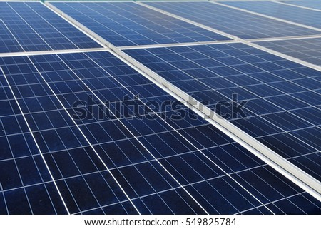 It is a solar panel for solar power generation