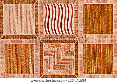 It is Design of tile for pattern and background. - stock photo