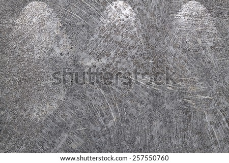 It is Three lights down on scratched cement for pattern. - stock photo