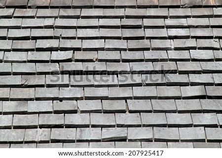 It is wooden roof for pattern and background.