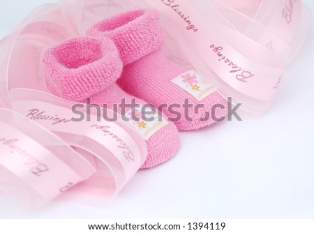 It's a girl! - stock photo