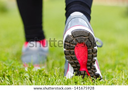 It's important to choose the right footwear for your favourite activities - stock photo