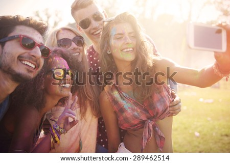 It's worth to stop this moment  - stock photo