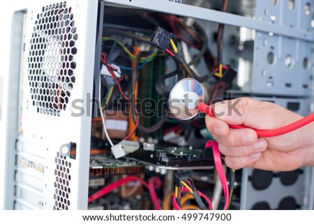 IT Technician computer repairing