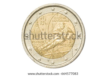 Italy euro coin stock images royalty free images for Coin torino