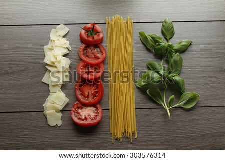 Italian Food  - stock photo