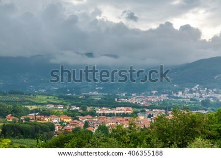 Italian landscape. - stock photo